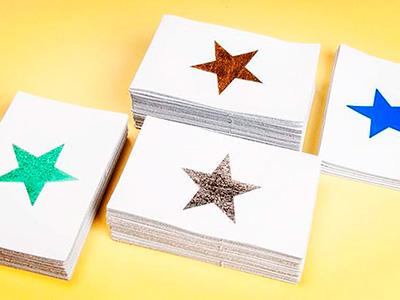 Lederen postkaarten
