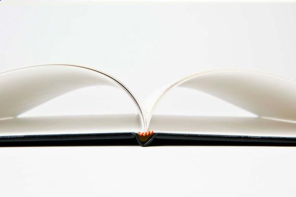 Inbinding van een boek